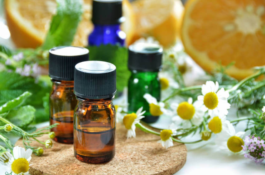 Mix and combine essential oils like ginger, cinnamon, and pine to bring fall into your home!