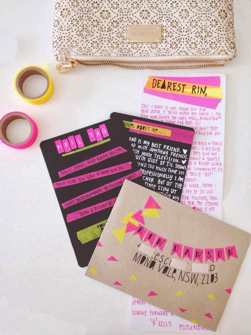 Sending a handwritten card will surely brighten someone's day!