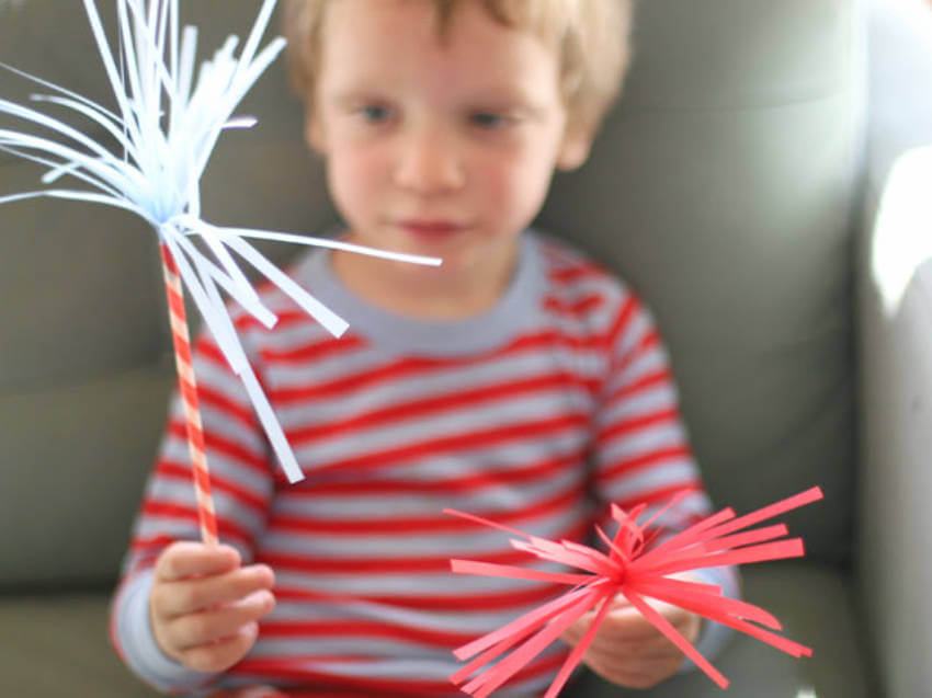 Paper sparkles for toddlers and grannies!