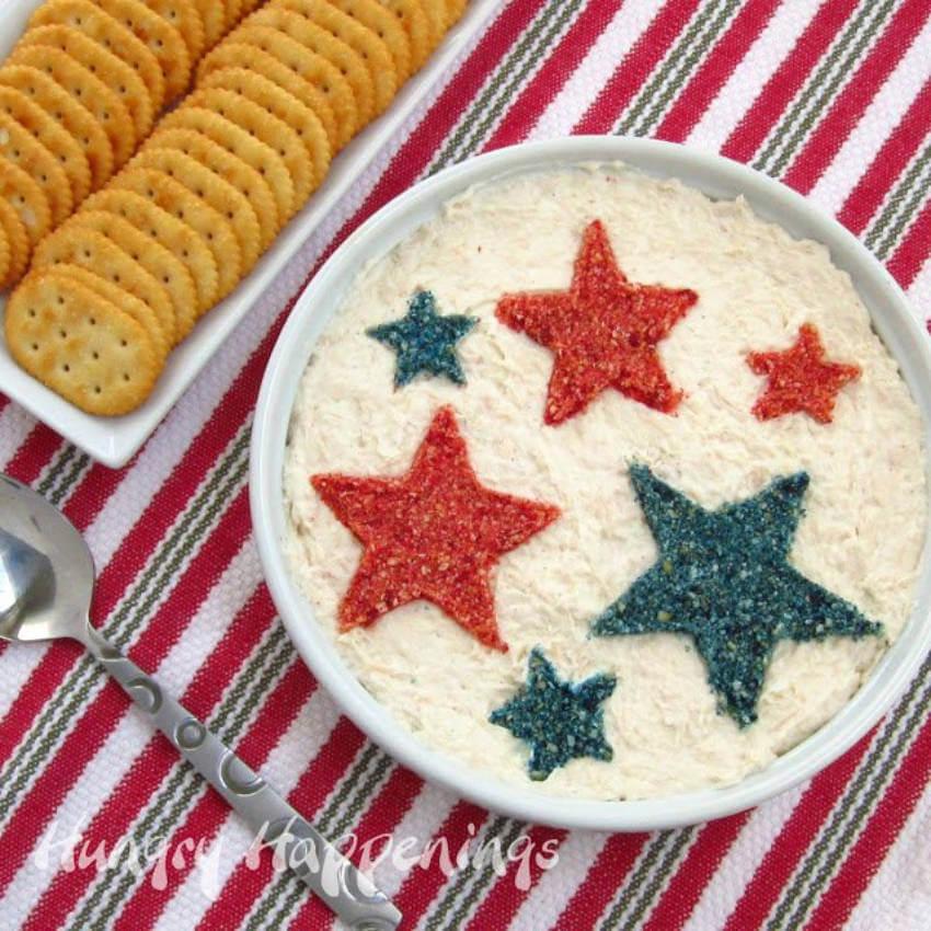 Patriotic dip.