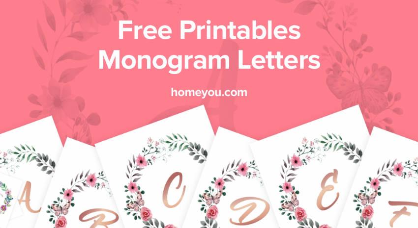 Free beautiful set of golden printables