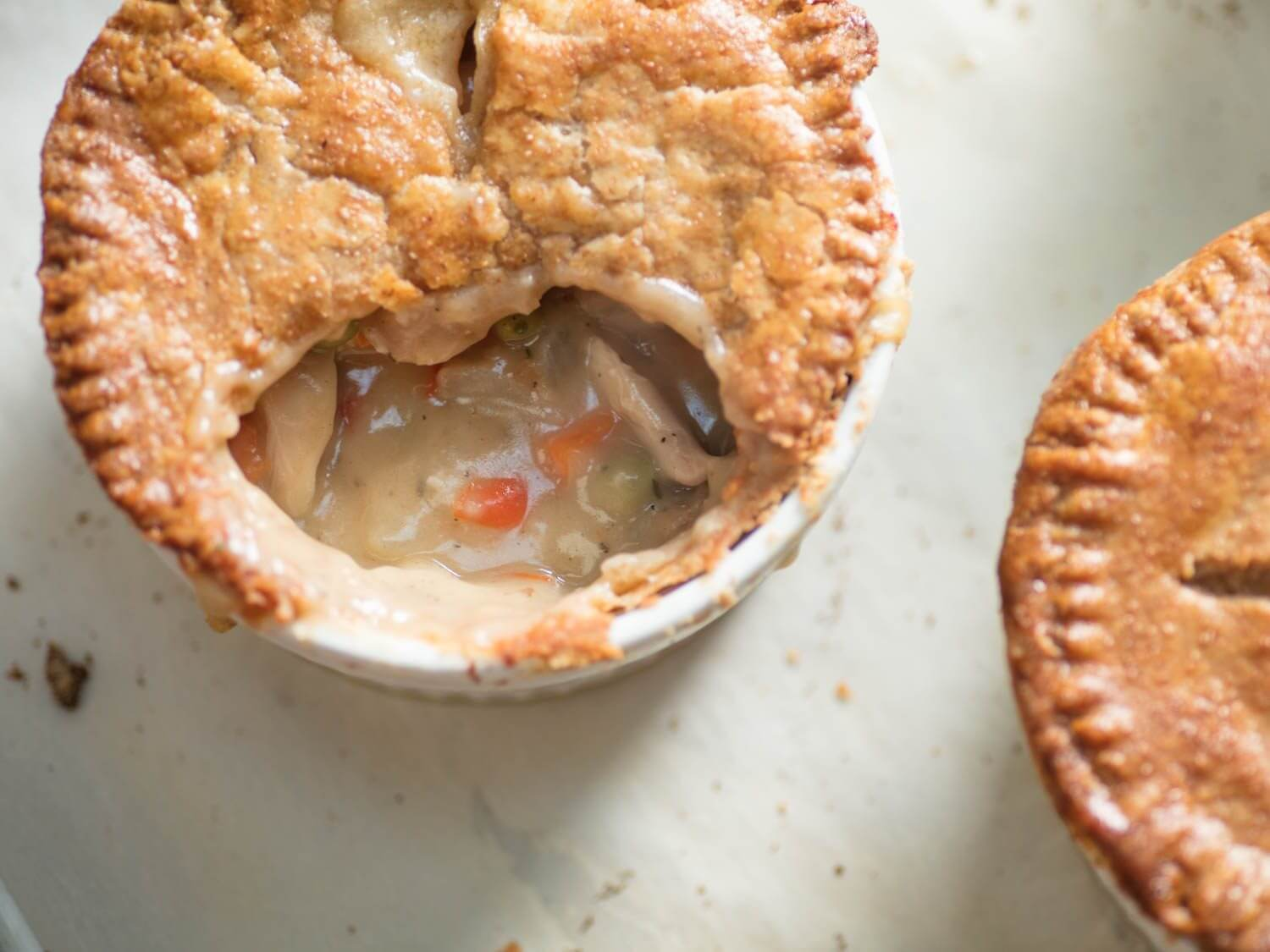 You've had chicken pot pit, but have you tried pizza pot pie?