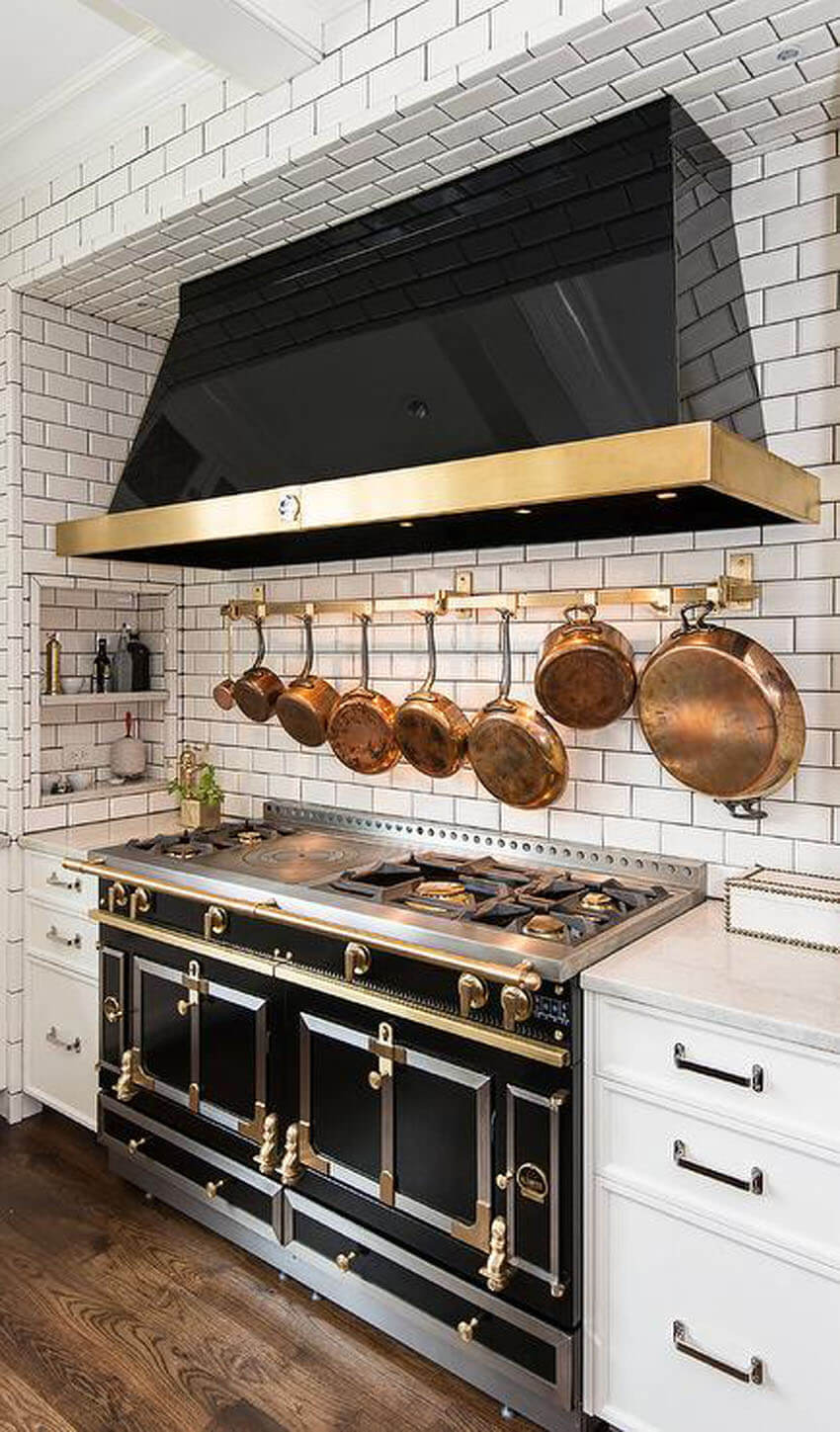 French stove tops are great for the kitchen