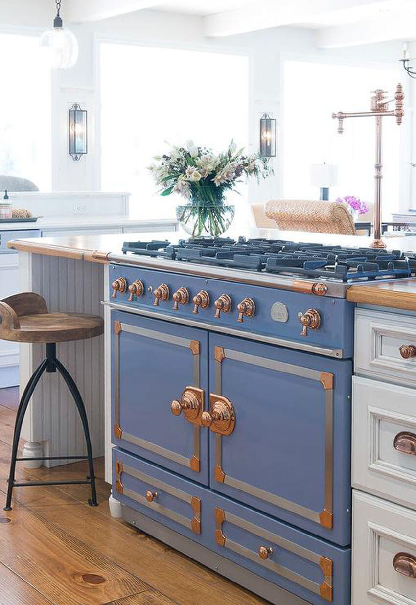 Try a new French stove for the kitchen