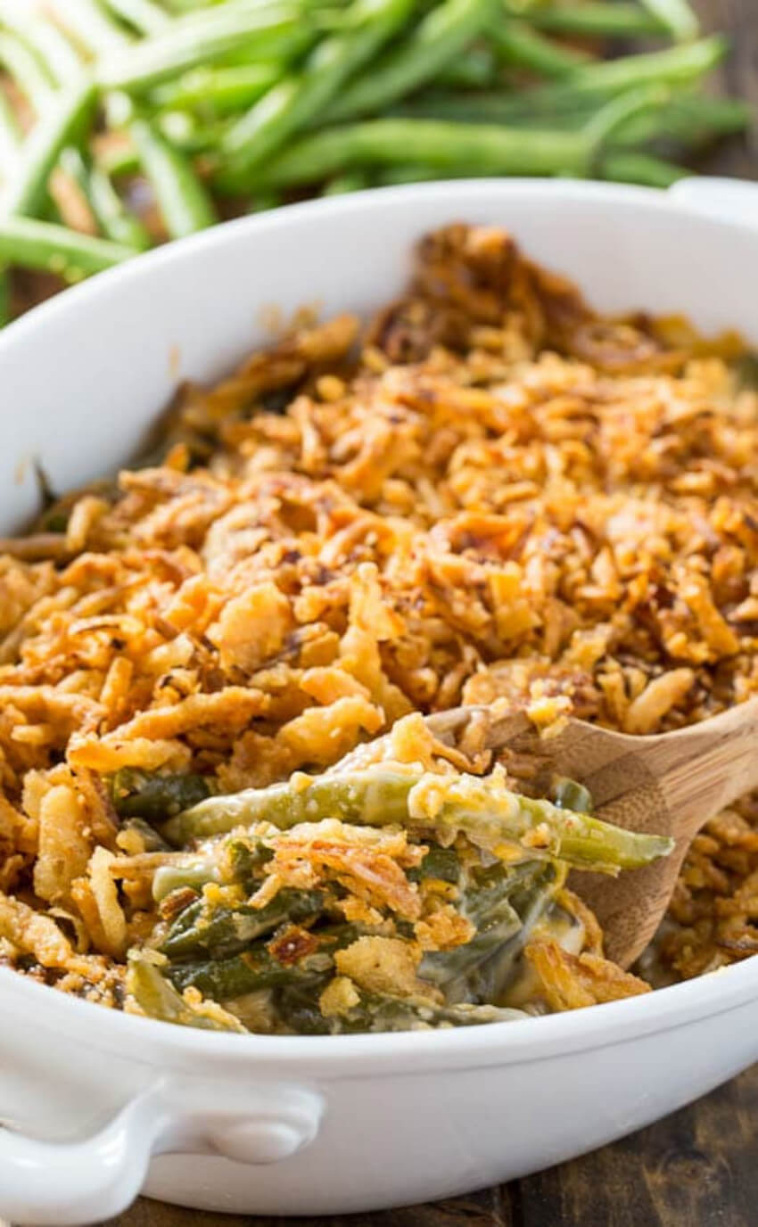A green bean casserole like you've never seen!