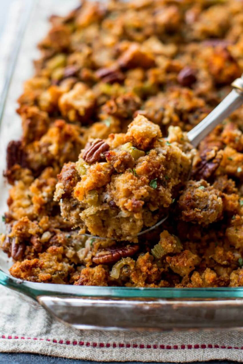 This stuffing recipe is a must at your holiday celebrations!