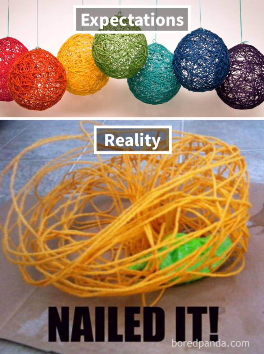 Nailed the yarn string balls, for sure!