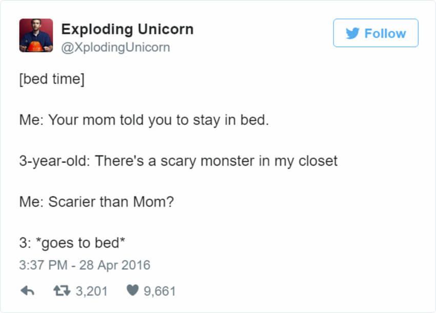 Scary mom.