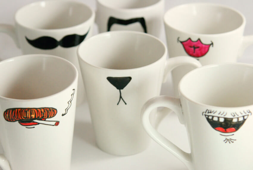 Mugs are a great way to bring out the funny side of people!