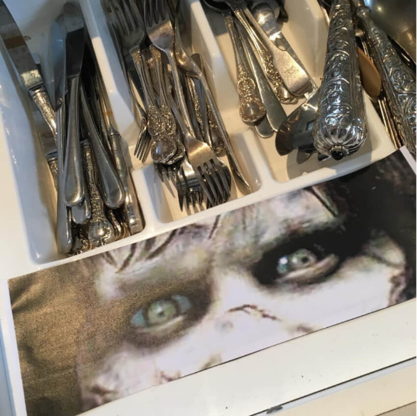 Not Even the Silverware Is Safe