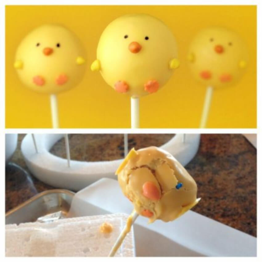 Chicken cakepops.