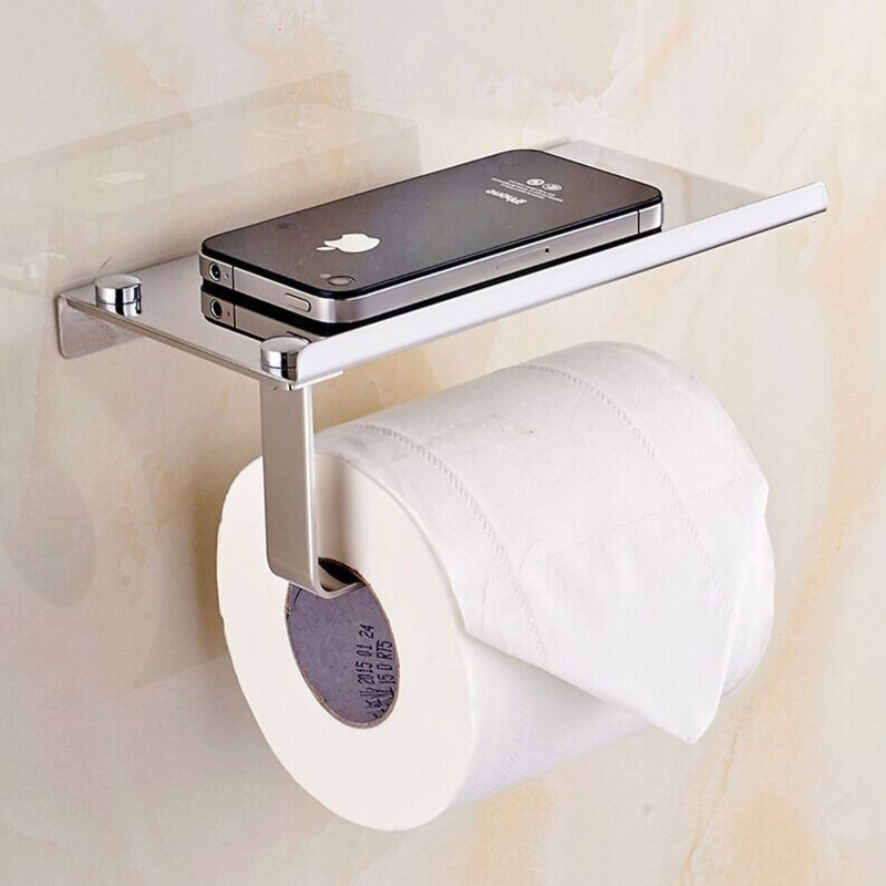 A neat phone stand to prevent accidents.