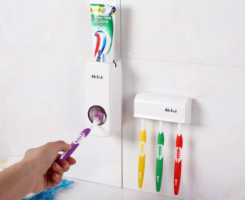 A toothpaste squeezer makes everything easier.