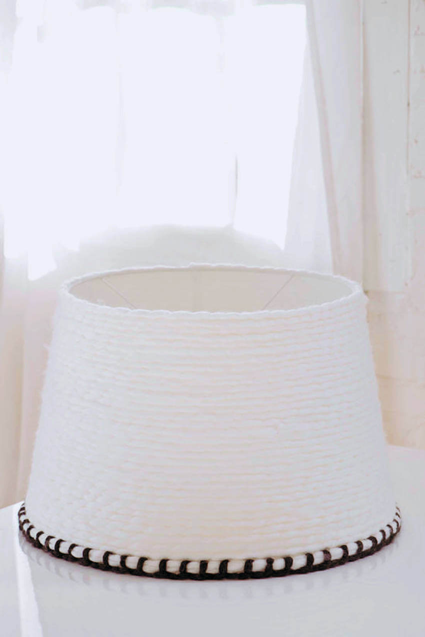 Transform an IKEA lampshade into something special in few simple steps!