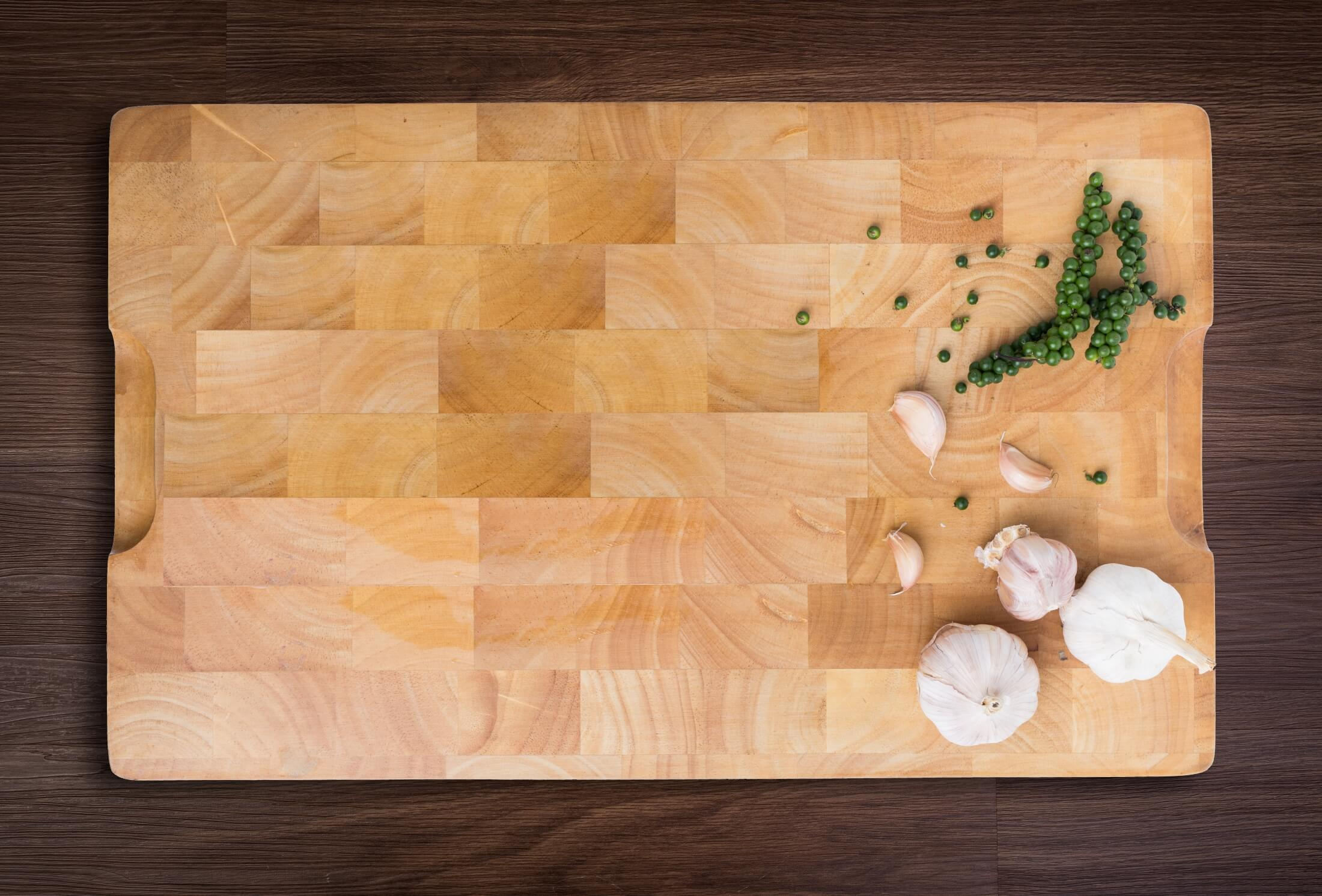 Cutting boards can actually last a long time