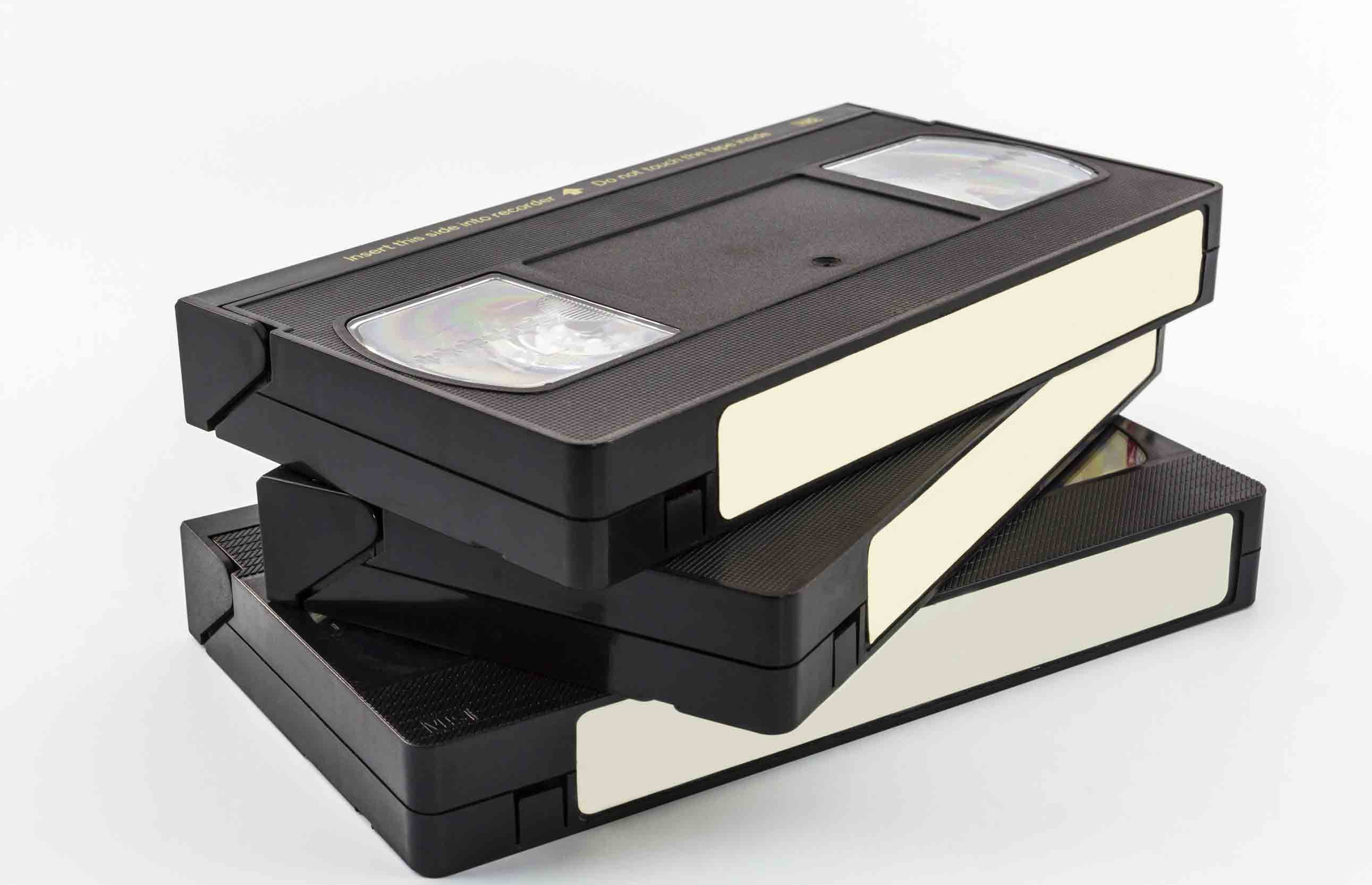 Remember VHS tapes? Everything is digital now