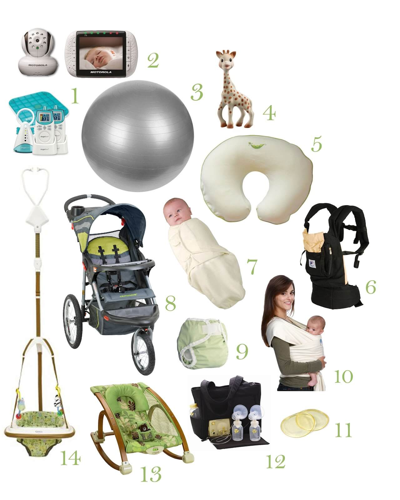 You will end up with so much baby stuff over the years, and you can only hand so much of it down