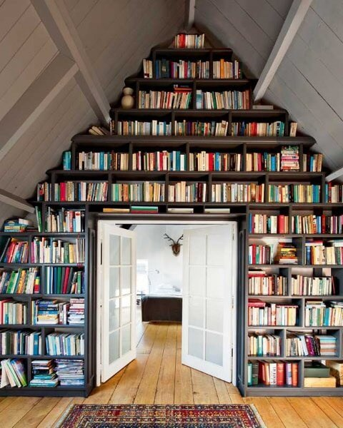 Too many books? Some would say there's no such thing.