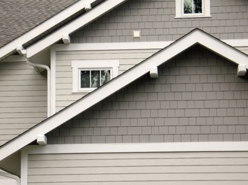 Cracks or holes can lead to major siding problems.