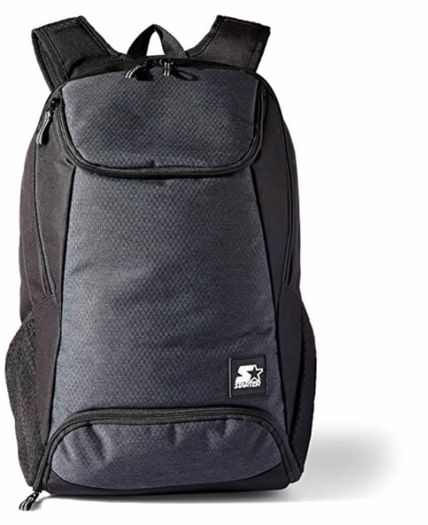 Backpack with shoe pocket
