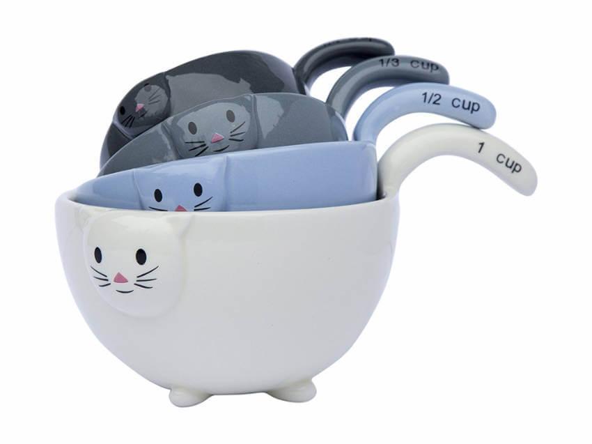 Little kittens ceramic bowls