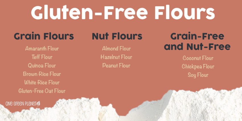 There are many types of flour that are just as tasty and even healthier than the wheat one!