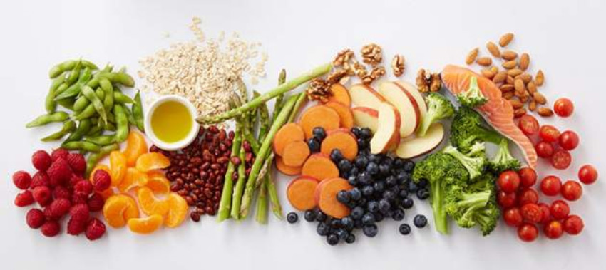 Veggies and fruits are all naturally gluten-free!