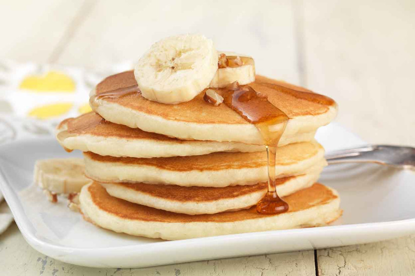 Gluten-free pancakes are just as delicious as the ones made with wheat flour!
