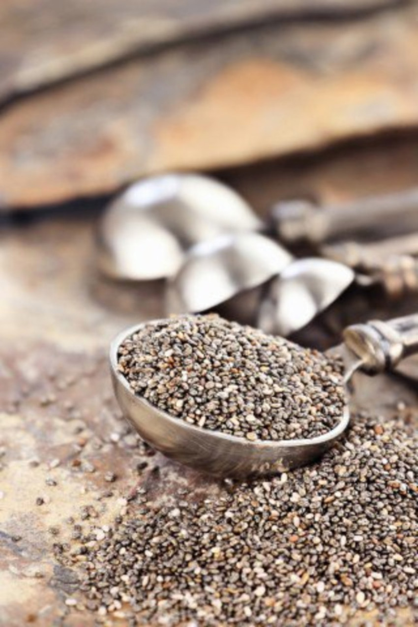 Chia seeds are healthy and can be a great addition in your gluten-free recipes!
