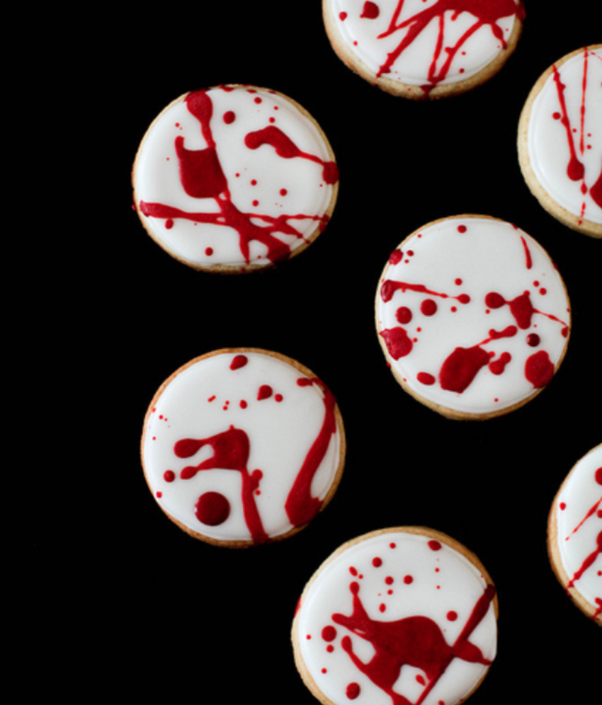 Don't worry, these bloody cookies are totally harmless.