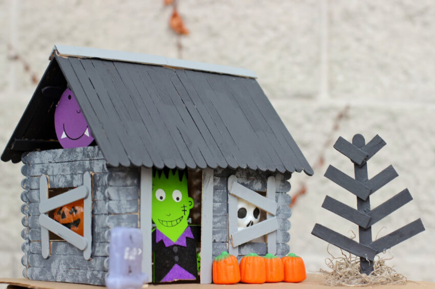 A haunted house will be super fun to make!