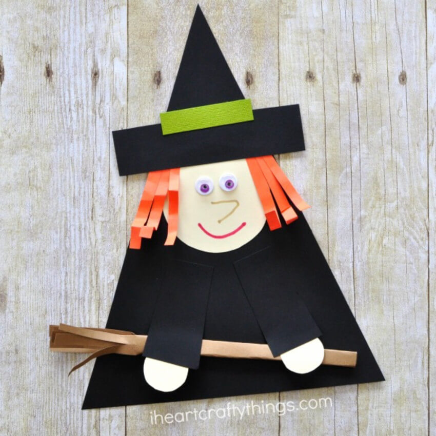 There's no Halloween if there's no witch.