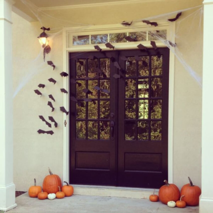 This bat colony will make Halloween night even better!
