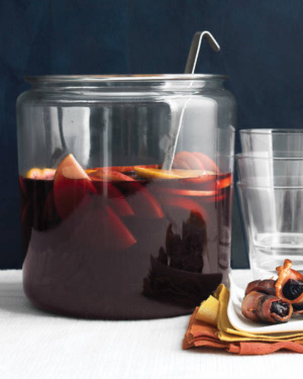 A simple and basic sangria that's still delicious!