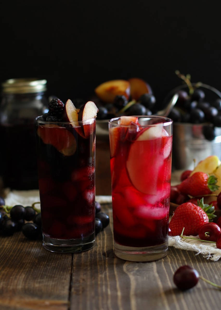 Sangrias that come in red and black!