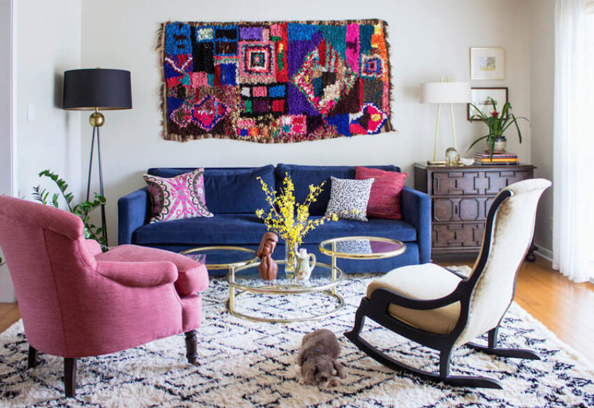 A tapestry can add a happy and romantic tone to your home!