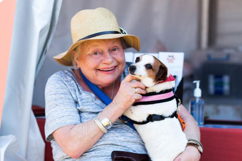 Grandma loves dogs too!