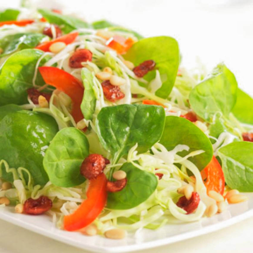 Easy and quick to make, this salad is amazing!