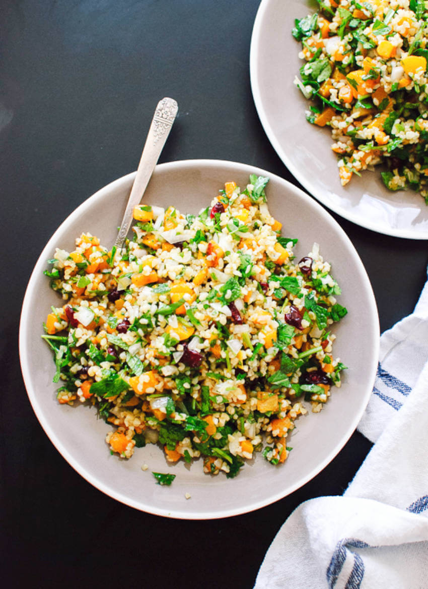 A tabbouleh recipe for Thanksgiving that's easy and delicious!