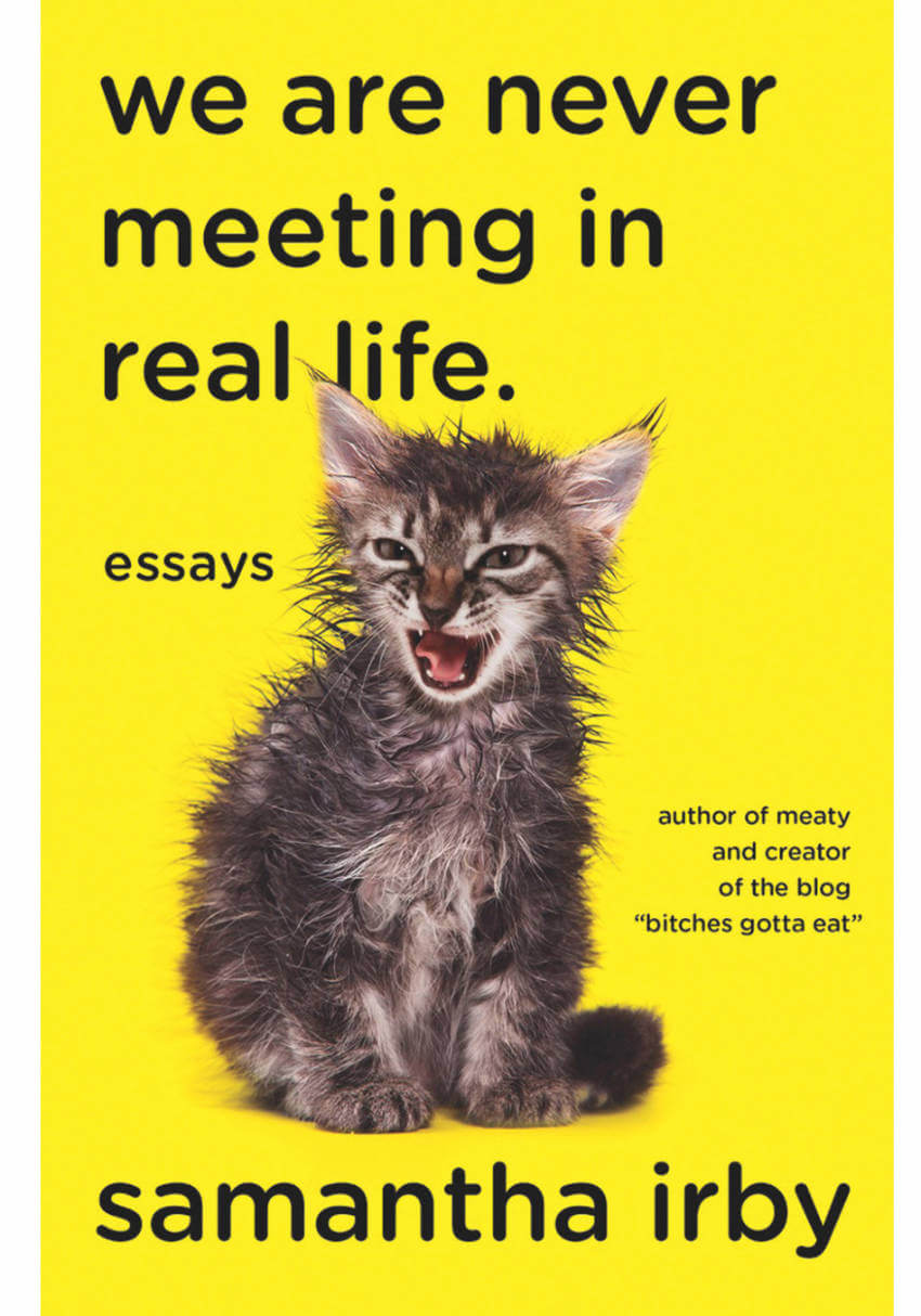 The title's brutal honesty combined with that wet kitty just makes this book a must-read.