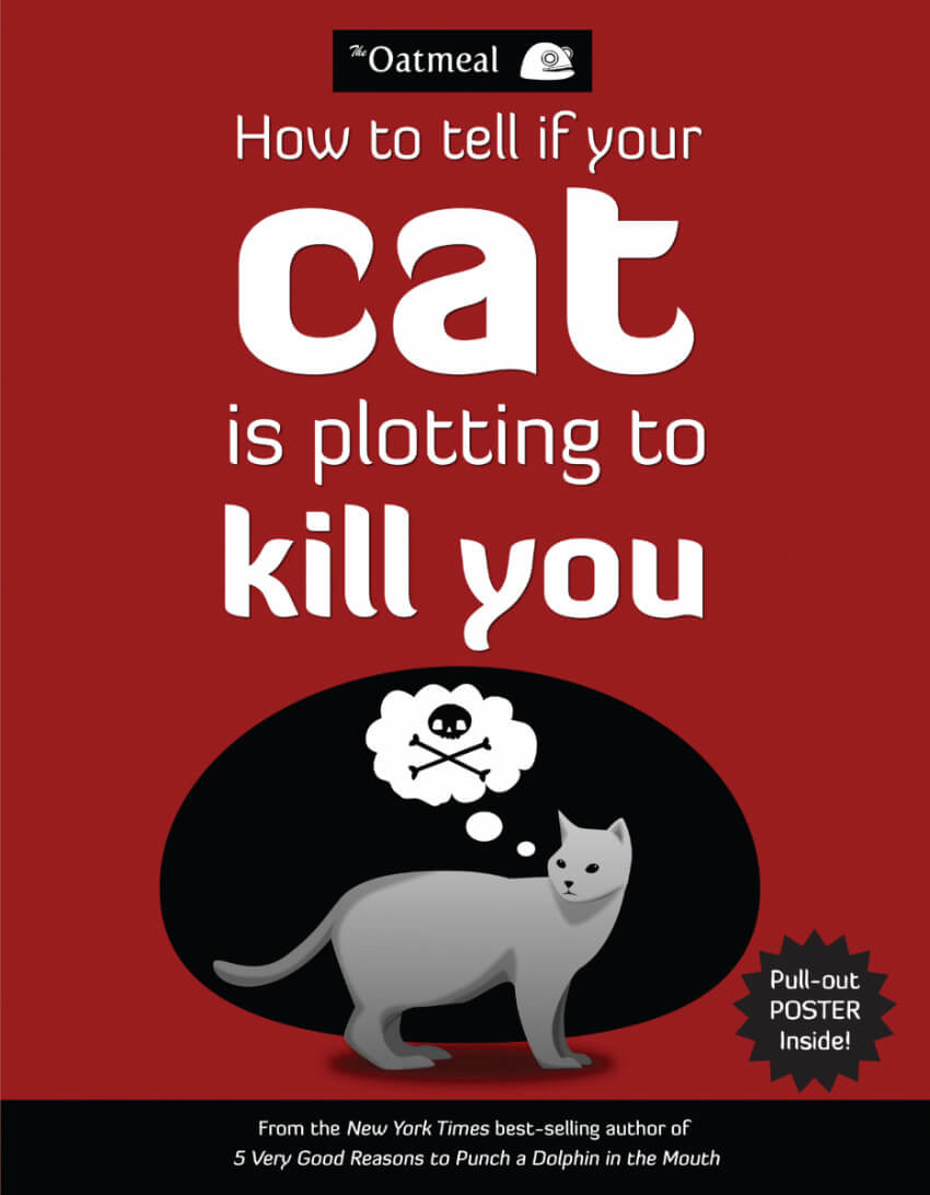 This book is perfect for those who don't fully trust their sneaky feline friends