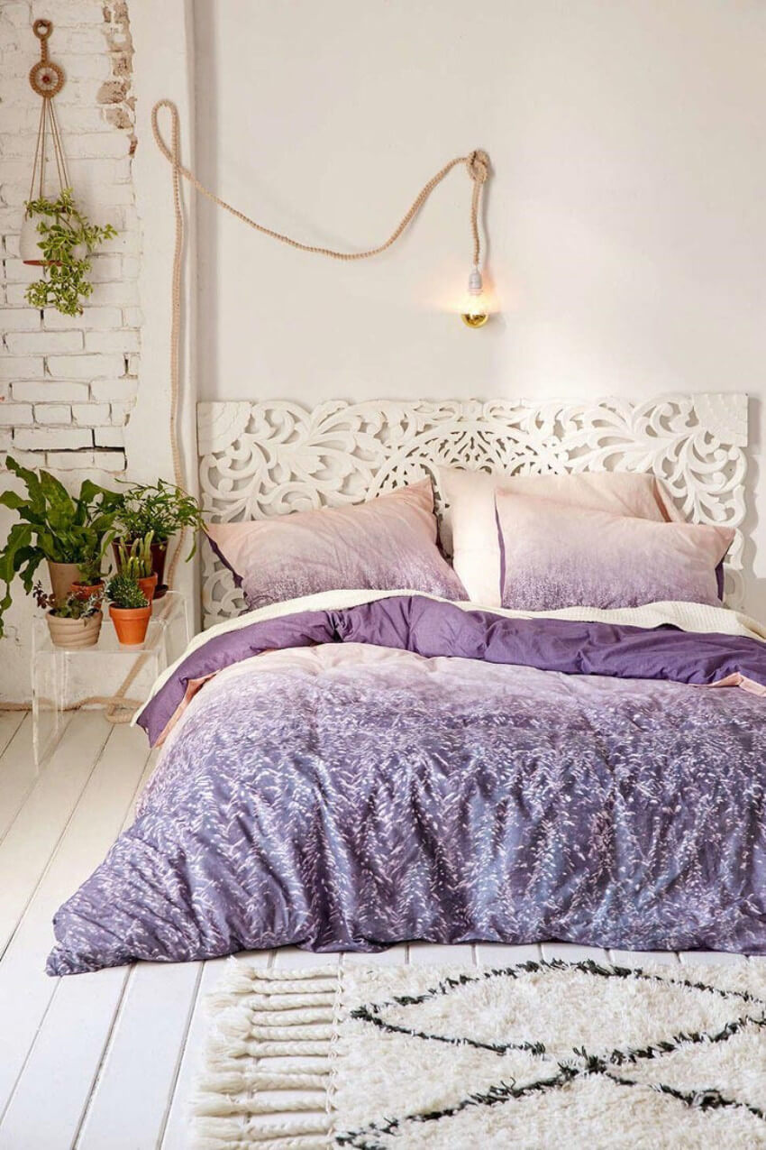 Bedding is one simple option that will define your whole room!