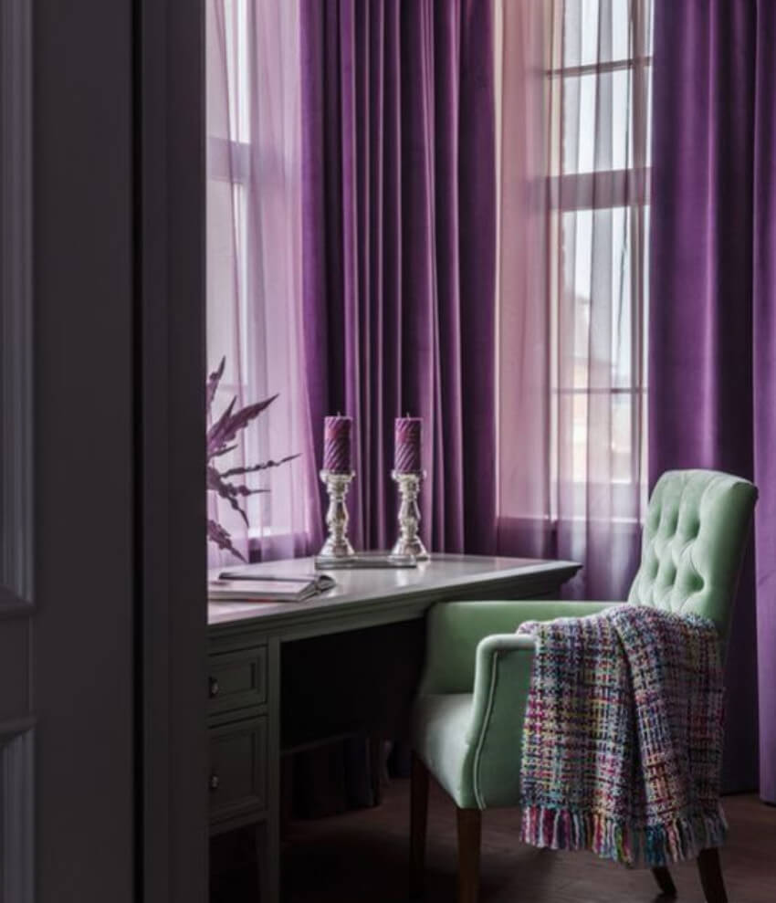 Curtains are never out of style!