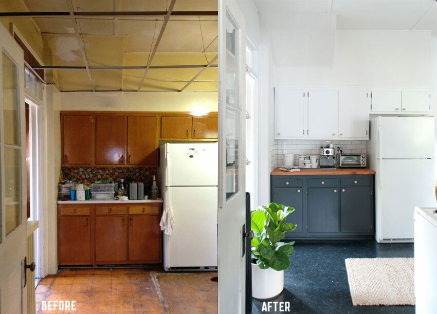 Small kitchen facelift
