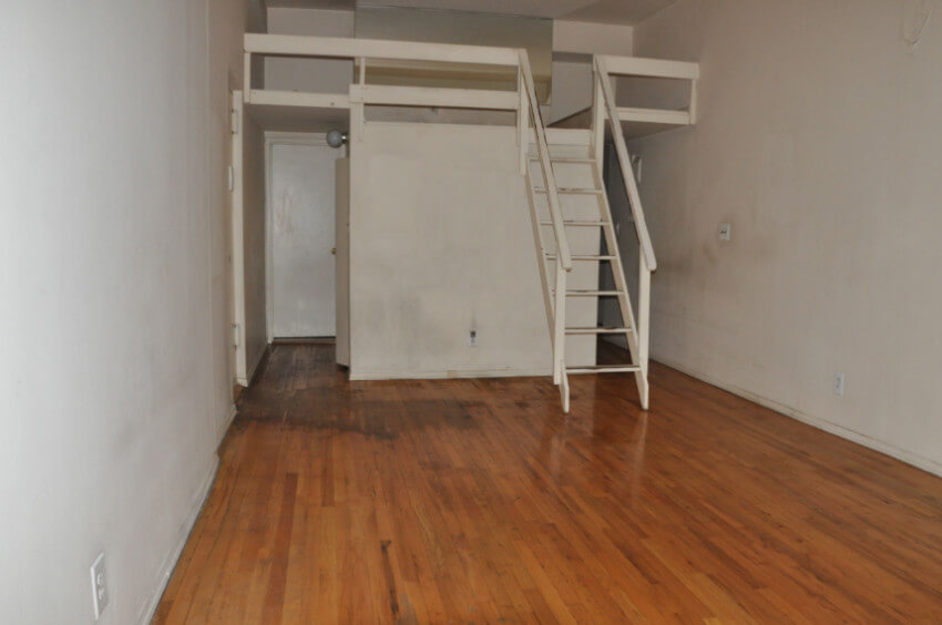 This room does look a little hopeless, but also has a lot of potential