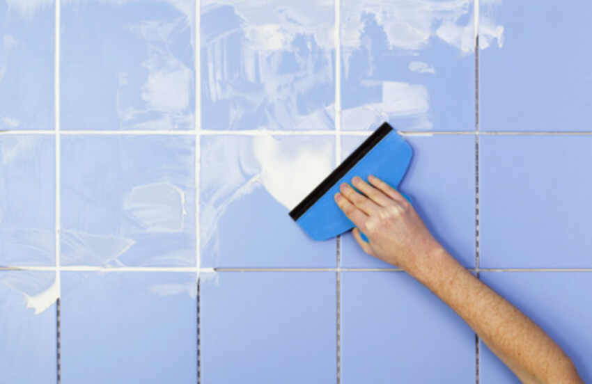 Resealing grout is important to keep it stain-free.