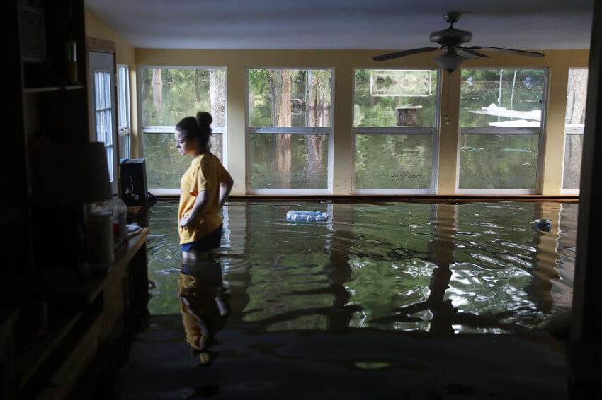 Water damage needs to be restored as soons as possible.