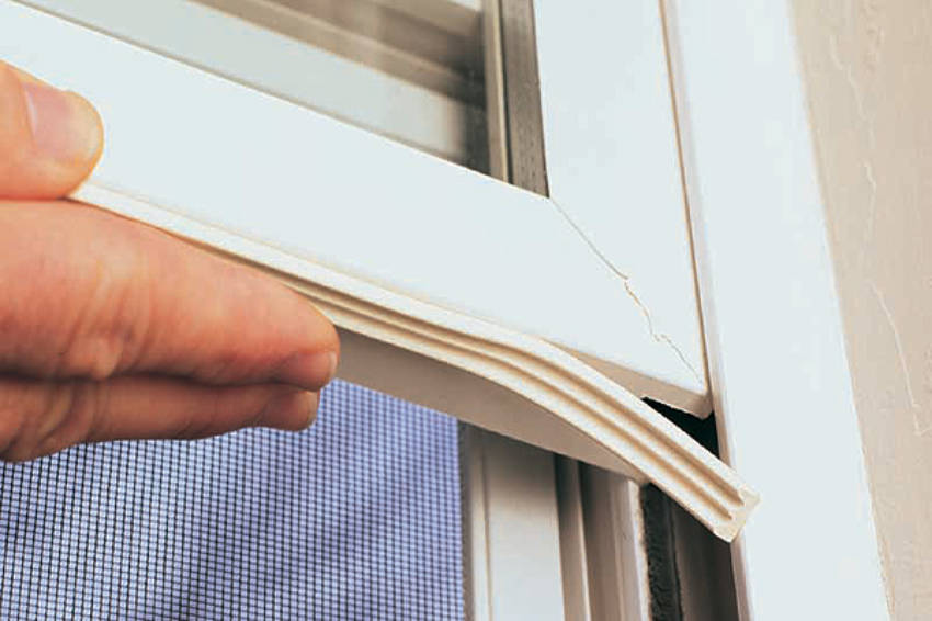 Sealing the windows is one of the ways to make sure your home is energy efficient.