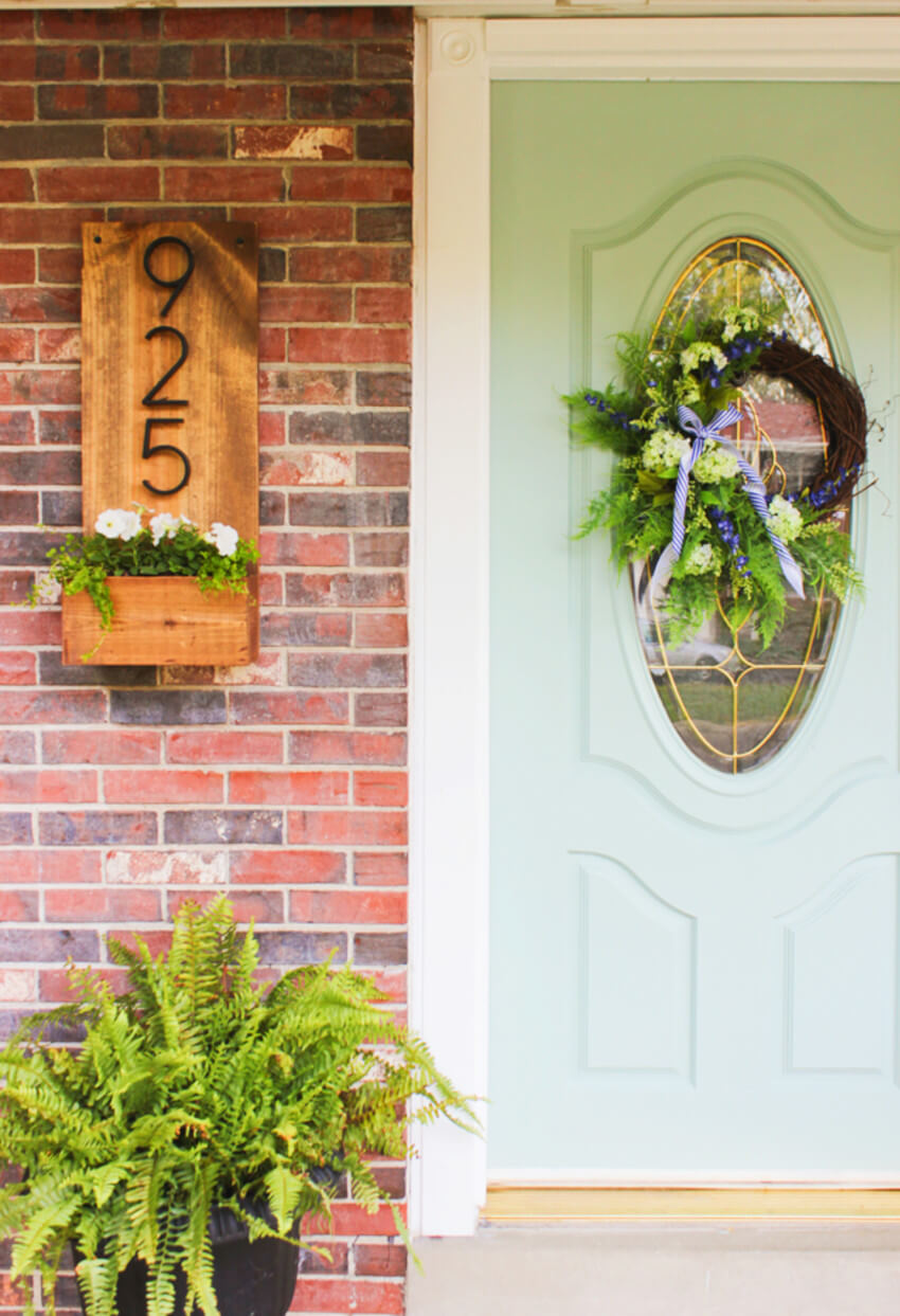 New house numbers will already make you feel better about your home's look.