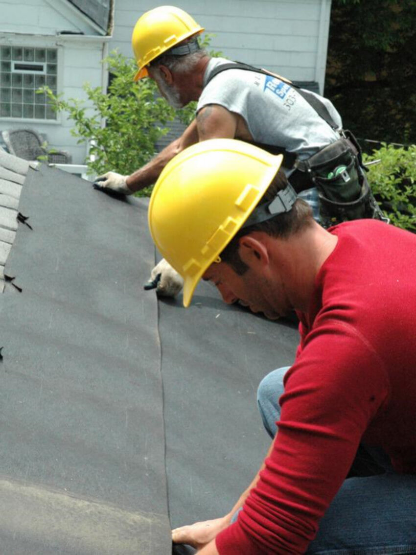 Roofs can be tricky, hire a pro!